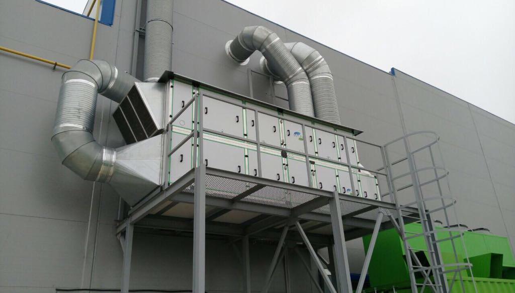 промышленная приточно-вытяжная вентиляция